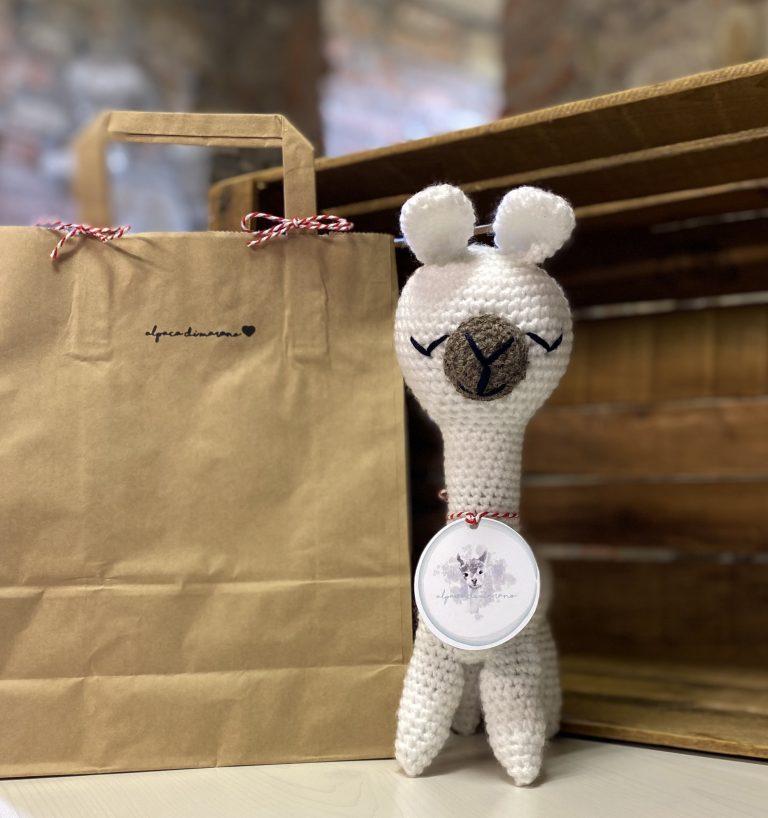Alpaca amigurumi - Alpaca di Marano